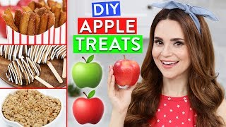 Download DIY APPLE TREATS! Video