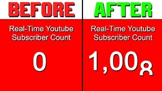 Download How To Get Your First 1000 Subscribers FAST! (Watch Until The End) Video