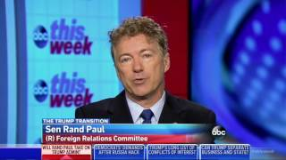 Download Rand Paul Will Not Let Donald Trump's John Bolton Near the Secretary of State | Rex Tillerson Video