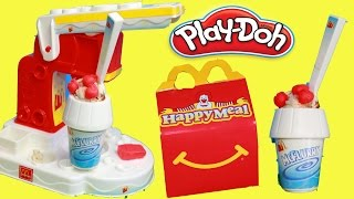 Download PLAY-DOH McDonalds McFlurry Ice Cream Dessert HAPPY MEAL SURPRISE Play Dough Fast Food Play Kitchen Video