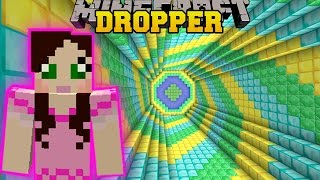 Download Minecraft: SECRET TREASURE DROPPER!! - THE ABSURD DROPPER - Custom Map [2] Video