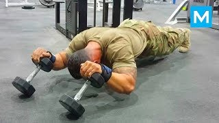 Download ARMY MONSTER - Super Soldier Diamond Ott | Muscle Madness Video
