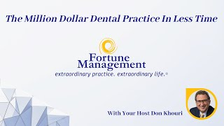 Download How to Build a Million Dollar Dental Practice in Less Time Video
