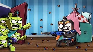 Download Minecraft - NERF WAR MOD - Armor, Snipers, Machine Gun! (ULTIMATE NERF MOD) Video