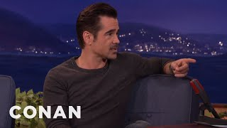 Download Colin Farrell Wants To See Conan Naked At The Spa - CONAN on TBS Video