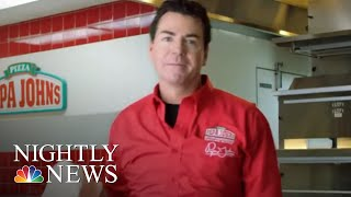 Download Papa John's Founder Resigns Amid Backlash After Admitting He Used The N-Word | NBC Nightly News Video