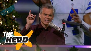 Download Colin Cowherd discusses the Dallas Cowboys and NFL replay policy | THE HERD Video