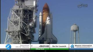 Download STS-133 The Final Launch of Space Shuttle Discovery including T-5 hold Video