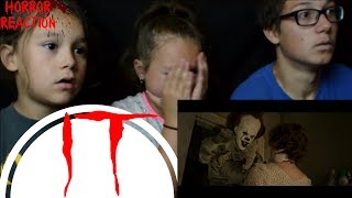 Download IT - Official Trailer 1 Reaction!!! 🎈 Kids React to IT Video