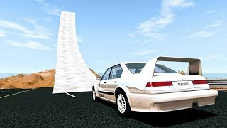 Download Who Needs Bridges Anyway? #1 - BeamNG Drive Jumps & Crashes Video