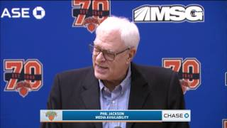 Download Phil Jackson on Carmelo Anthony's Future with the Knicks Video