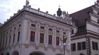 Download Views Around the City of Leipzig, Saxony, Germany - 12th November, 2013 Video