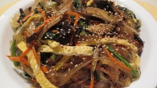 Download How to Make JAPCHAE 잡채! (Korean Noodles w/ Mixed Vegetables) Video