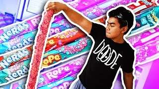 Download DIY How To Make GIANT NERDS ROPE! Video