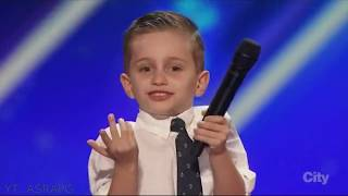 Download Youngest America's Got Talent Comedian | Nathan Bockstahler | Full Audition & Performances Video