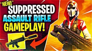 Download *NEW* SUPPRESSED ASSAULT RIFLE! Feat. Timthetatman, Kyle Long & BasicallyIDoWrk Video