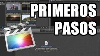 Download Final Cut Pro X - #1: Primeros Pasos Video
