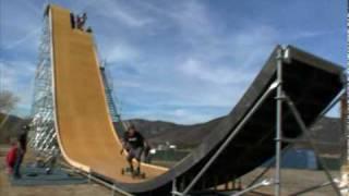 Download Nitro Circus - Exclusive Nitro Mega Ramp training footage Video