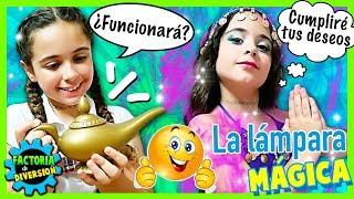 Download 👧🏻 CLODETT y la LAMPARA MÁGICA ✨ La GENIO de la LÁMPARA CUMPLE sus DESEOS 😋 Historias de MAGIA Video