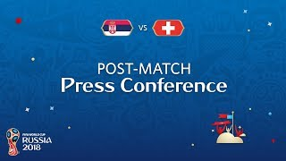 Download FIFA World Cup™ 2018: Serbia v. Switzerland - Post-Match Press Conference Video