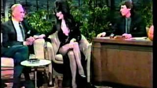 Download Elvira Mistress of the Dark - Vincent Price 1986 Tonight Show - David Brenner hosts Video