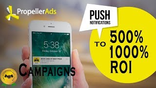 Download Is Propellerads Converting ? Crazy ROI Campaigns With Push Notifications = Cheap Traffic! Video
