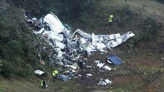 Download Colombia plane crash. Brazil Chapecoense football team in Colombia plane crash Video