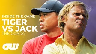 Download Tiger Woods VS Jack Nicklaus: Who Is The Greatest? | Inside The Game | Golfing World Video
