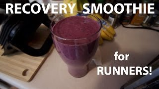 Download RECOVERY SMOOTHIE FOR RUNNERS! | Sage Running Nutrition Tips Video