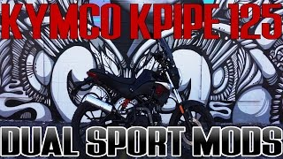 Download Kymco KPIPE 125 DUAL SPORT MODS! Video