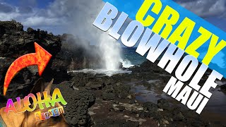 Download Crazy Blowhole on Maui Video