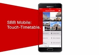 Download SBB Mobile: Touch-Timetable. Video