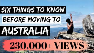 Download 6 THINGS TO KNOW before moving to AUSTRALIA | Melbourne Video