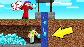 Download I STOLE My Friends DIAMONDS From Their WISHING WELL! (Minecraft Troll) Video