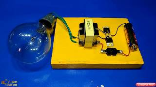 Download inverter 1 5v to 220v how to make inverter made to easy simple circuit new idea Video