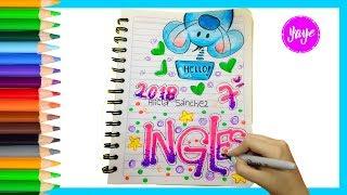 Download IDEAS PARA MARCAR CUADERNOS-Regreso a clase-Cómo marcar cuaderno de Inglés-Yaye Video