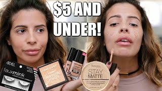 Download FULL FACE NOTHING OVER $5 | Drugstore Makeup Tutorial Video