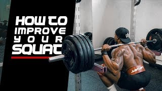 Download HOW TO IMPROVE YOUR SQUAT Video