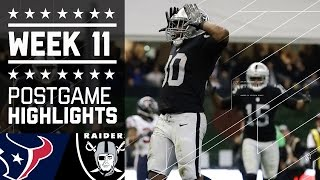 Download Texans vs. Raiders | NFL International Week 11 Game Highlights Video