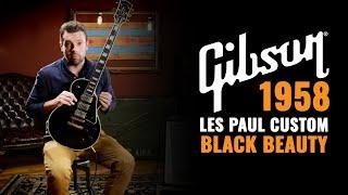 Download 1958 Gibson Les Paul Custom Black Beauty | CME Gear Demo Video
