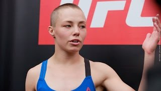 Download Rose Namajunas UFC on FOX 24 Open Workout Scrum - MMA Fighting Video