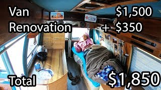 Download How to Build a Home Made Camper Van - Start to Finish DIY Video