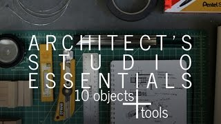 Download Architect's Studio Essentials - 10 objects + tools Video