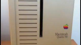 Download Apple Macintosh Quadra 700 with Mac OS 7.1 - still running! Video