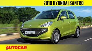 Download 2018 Hyundai Santro | Manual & AMT Review | Autocar India Video