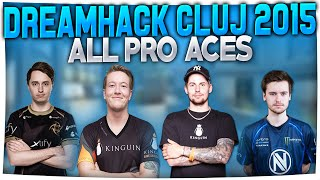 Download CS:GO - ALL PRO ACES FROM DREAMHACK CLUJ-NAPOCA 2015! (Insane ACES & CLUTCHES) Video
