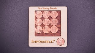 Download The Impossible Ten Penny Puzzle Video
