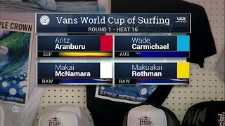 Download 2016 Vans World Cup: Round One, Heat 16 Video
