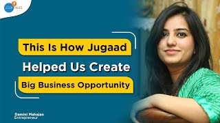 Download How I Used 'JUGAAD' and Rs1400 To Start My Entrepreneurial Journey | Damini Mahajan | Josh Talks Video