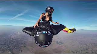 Download GoPro Fusion 360VR wingsuit Rodeo Video